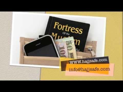 HAJJ SAFE- Hajj and Umrah Secure Travel Neck Bag For Women