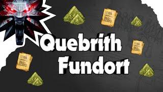 The Witcher 3 - Fundort Quebrith Alchemierezept