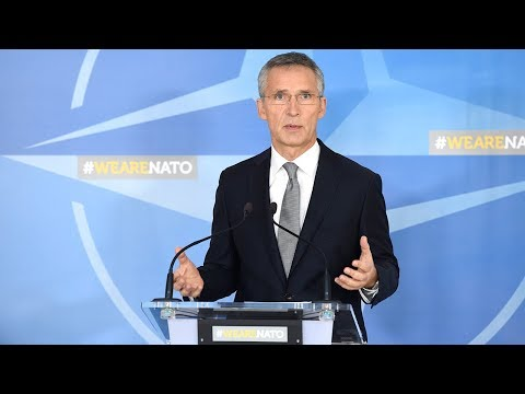 NATO Secretary General - Doorstep statement at Defence Ministers Meeting, 8 NOV 2017