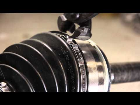 How to install STRETCH Ear type CV Boot clamps