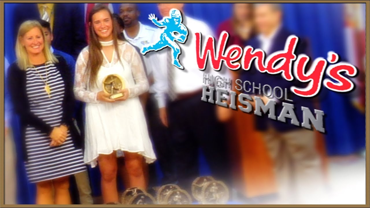 Wendys high school heisman prizes