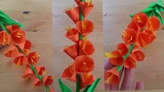 Цветы из бумаги своими руками: легко и быстро. Как сделать бумажный цветок
