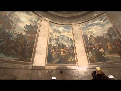 Murals at the George Rogers Clark Memorial
