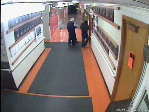 Milledgeville IL School burglary