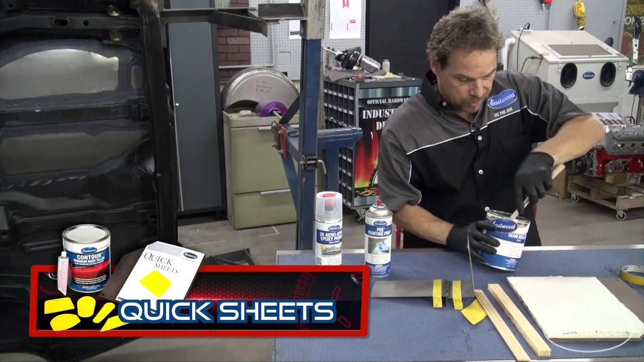 How To Apply Seam Sealer On A Car Floor Trunk Firewall