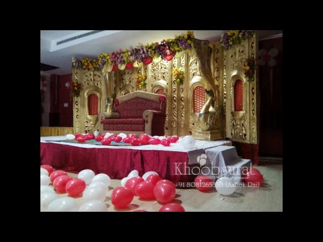 jaimall stage decoration in lucknow +91 8081265333