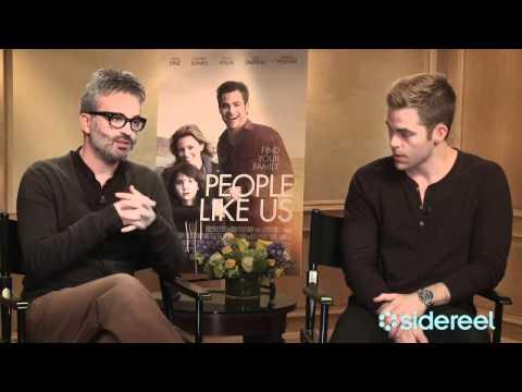 People Like Us: Exclusive Interview with Chris Pine & Director Alex Kurtzman