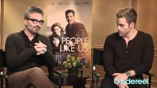 People Like Us: Exclusive Interview with Chris Pine & Director Alex Kurtzman Thumbnail