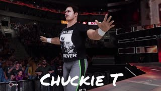 Chuckie T Custom Entrance (WWE 2K18)