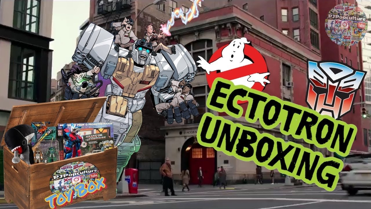 Transformers/Ghostbusters Ectotron Unboxing
