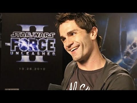 Starkiller Interviewed - ‪Force Unleashed 2‬ star Sam Witwer