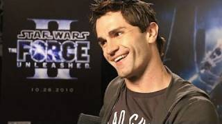 Starkiller Interviewed - ‪Force Unleashed 2‬ star Sam Witwer - Force