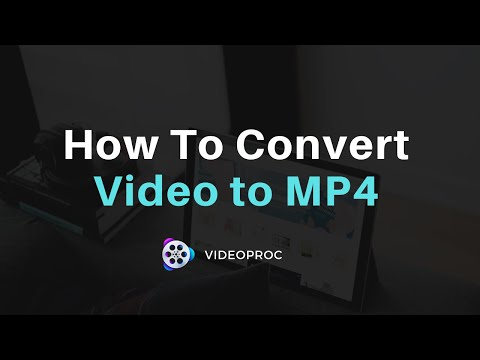 How to Convert Video to MP4 Fast Way - Best MP4 Converter Tutorial (4K, MOV, HEVC Supported)