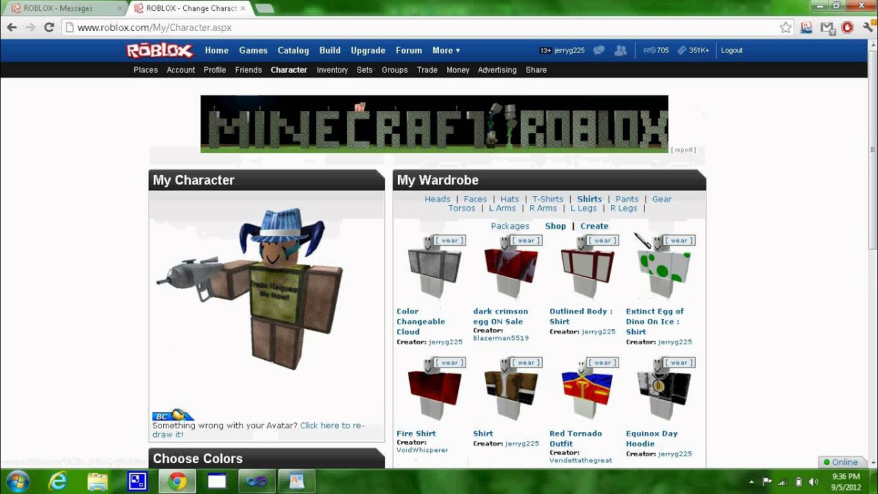 Trading system roblox