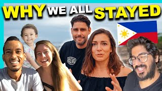 9 Stranded FOREIGNERS reveal EMOTIONAL TRUTH - PHILIPPINES vs. HOME