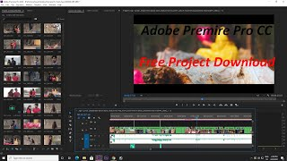 premiere pro free proĴect download || premiere pro wedding project free download On Jogi Song