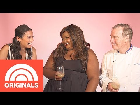 Donna Off-Air: 'Nailed It!' Host Nicole Byer And Judge Jacques Torres | Donna Off-Air | TODAY