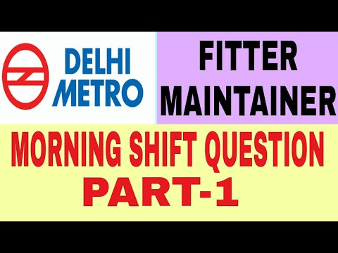 DMRC ANSWER KEY RELEASED | DMRC FITTER MAINTAINER ANSWER KEY 2018