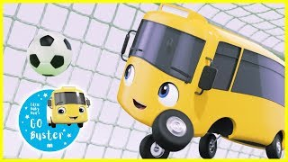 Buster Plays Soccer - NEW!! | GoBuster Official | Nursery Rhymes | Kids Videos |  ABCs and 123s