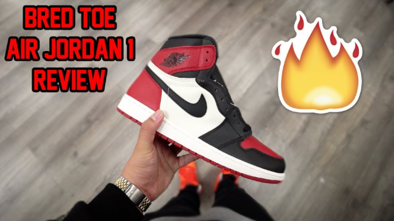 39d3ccdefb8711 2018 AIR JORDAN  BRED TOE  1 REVIEW!!! DID YOU COP OR DROP