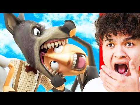 Reacting to the FUNNIEST Animations on YOUTUBE!