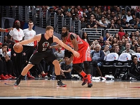 James Harden Duels Blake Griffin in L.A.