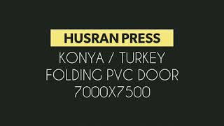 Katlanır Hızlı PVC kapı