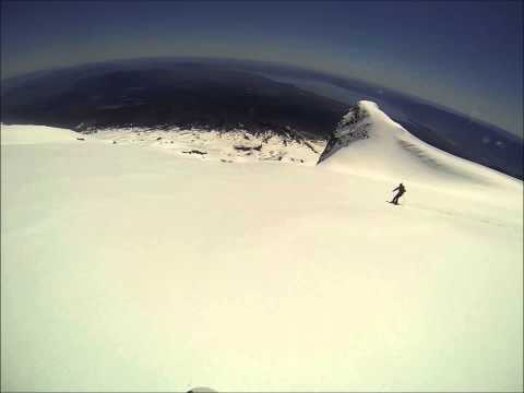 Splitboarding Volcan Villarica