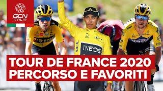 Tour de france 2020: percorso e favoriti