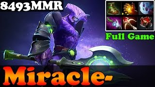 Dota 2 - Miracle- 8493MMR Plays Faceless Void - Full Game - Ranked Match Gameplay