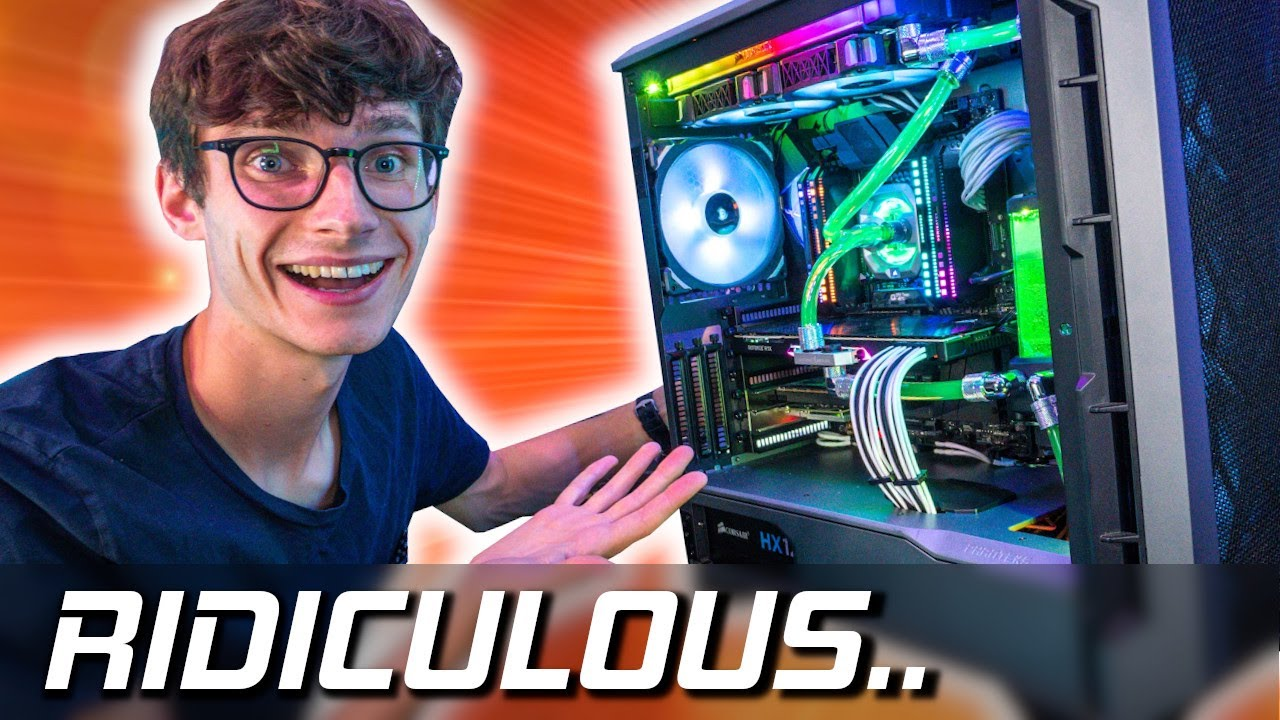 Download My Personal Rig Is FINISHED!! [Water Cooled 4K Gaming PC Build 2020!]