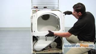 Dryer Door Latch Kit (part #306436) - How To Replace