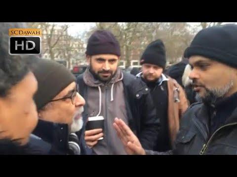 You got nothing! Hashim Vs Indian Christian | Speakers Corner | Hyde Park