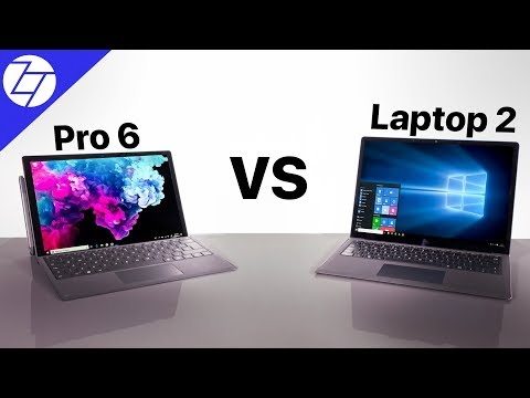 Surface Pro 6 vs Surface Laptop 2  My 1 Week Experience!