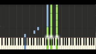 Chopin - Prelude Op. 28 No. 6 - Piano Tutorial - Synthesia