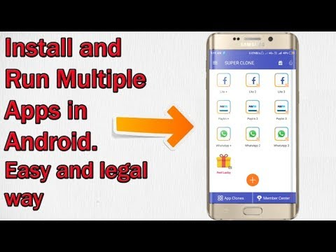Install And Run Multiple Accounts In One Android Device || Clone App