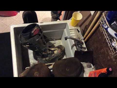 How I clean my motocross boots !