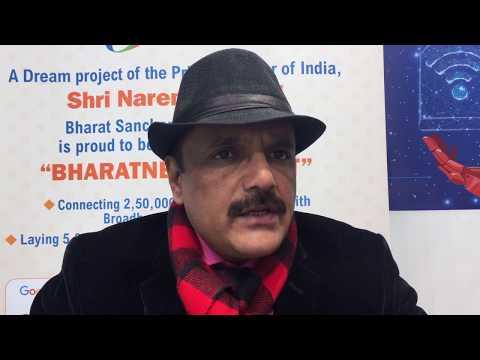 DT Interview with BSNL's Anupam Shrivastava: BharatNet with Sterlite Tech