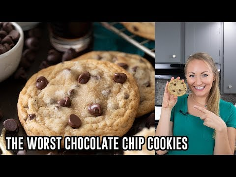 How to Make The Worst Chocolate Chip Cookies