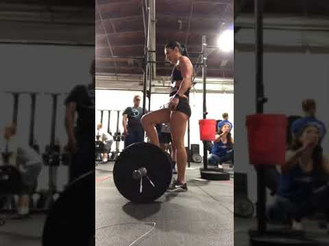 """CrossFit """"OPEN 19.2"""" WOD - 256 Reps (at United Barbell)"""