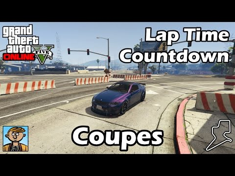 Fastest Coupes (2017) - GTA 5 Best Fully Upgraded Cars Lap Time Countdown