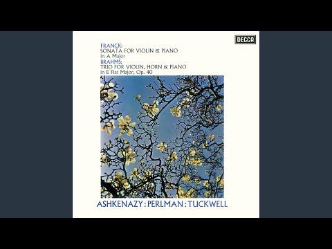 Franck: Sonata For Violin And Piano In A - 3. Recitativo - Fantasia