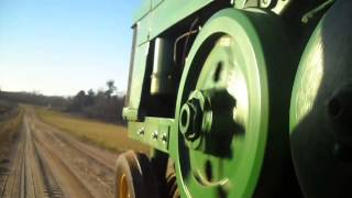 Early John Deere 60 cold start