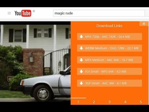 cara download video dan audio youtube tanpa copy URL(simple trik)