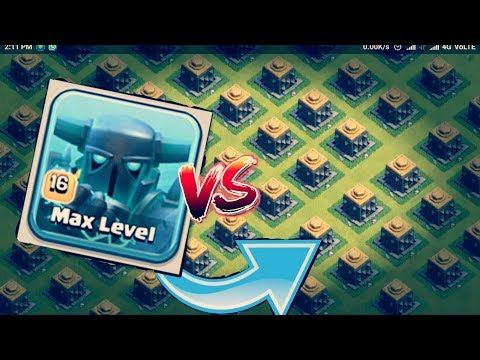 😱ALL CRUSHER VS 100 SUPER PEKKA | CLASH OF CLAN | PRIVATE SURVER |