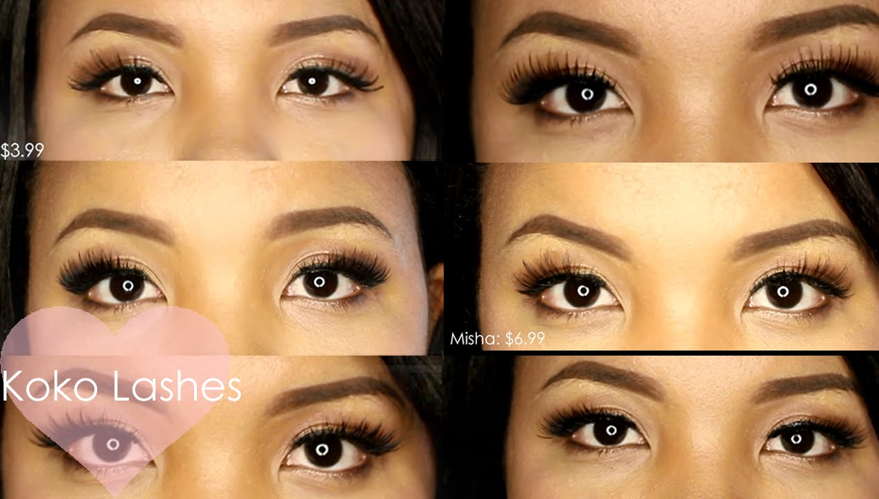 Koko Lashes Review & Try On