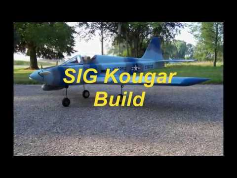 Kougar Build - Part 3 - Assembling the Foam Wing (Leading, Trailing Edge and Landing Gear Blocks)