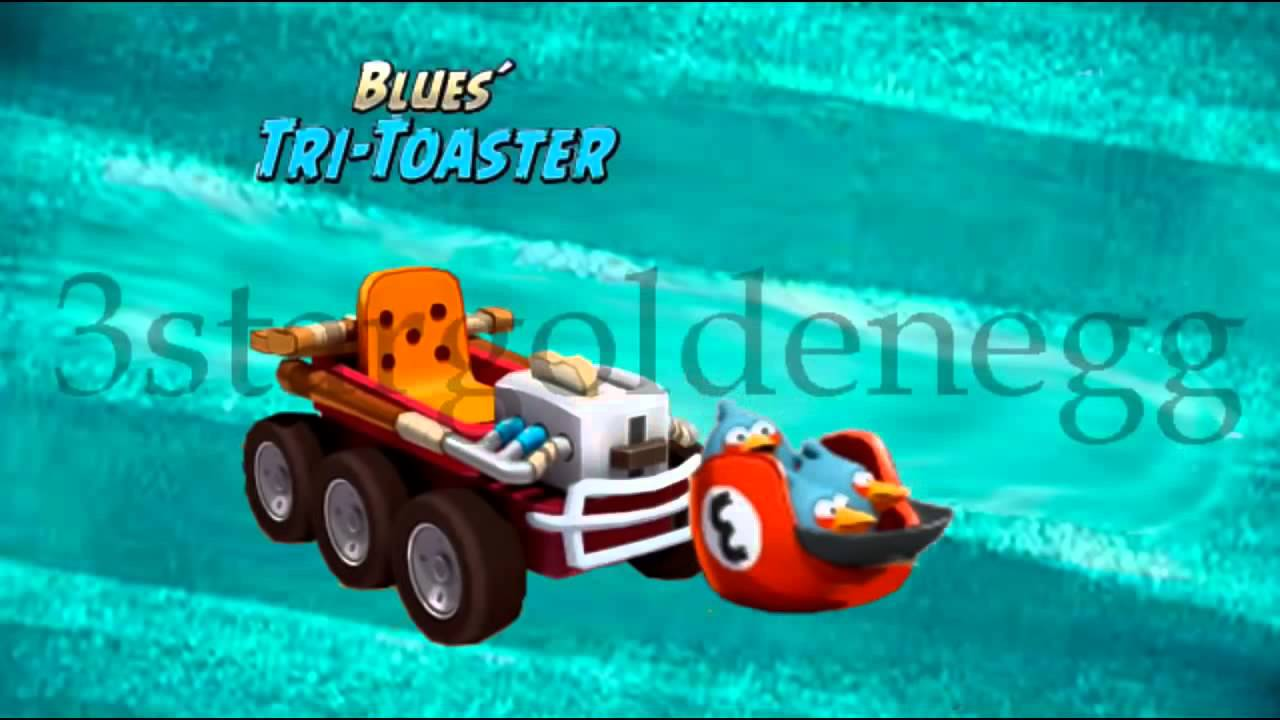 Angry Birds GO! Character Blues´ Tri Toaster Animation ...