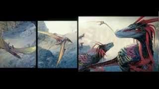 Dinosaur VS Aliens Episode 1