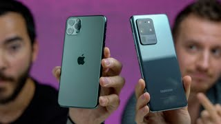 iPhone 11 Pro Max V.S Samsung Galaxy S20 Ultra